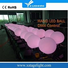 New Design Hand Led Ball Dmx Control