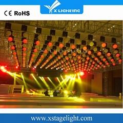 Wedding stage decoration full color DMX led Kinetic lights