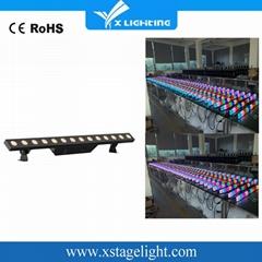 高品质14 * 5W暖白色LED条形洗墙灯