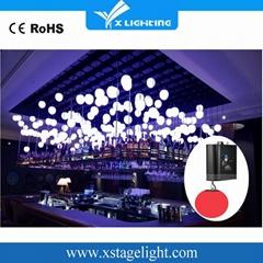 DMX 512  led kinetic lighting/ led lift ball