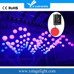 China supplier kinetic lights led sphere crystal balls