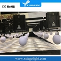 Dmx winch kinetic system RGB led lifting ball for sale