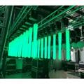 DMX winch led kinetic lighting crystal column