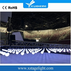 kinetic dmx lighting dmx led lift color ball