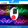 Wedding stage decoration full color DMX led Kinetic lights