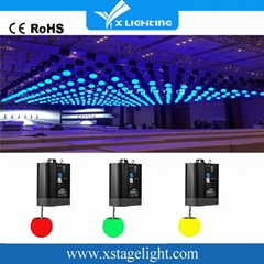Higher quality dmx winch kinetic system led rgb sphere led lift ball