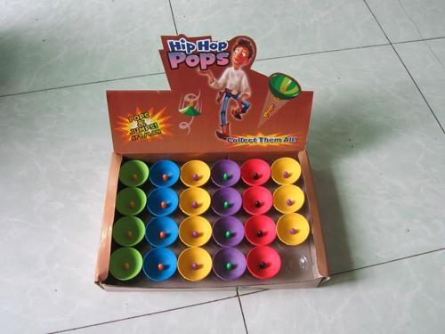 hip hop pops, jumping disc, half rubber bouncing ball 1