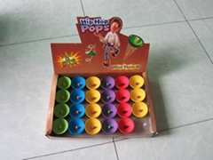 hip hop pops, jumping disc, half rubber bouncing ball