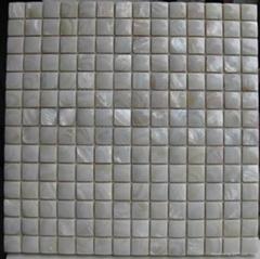 天然淡水貝凸面馬賽克室內裝修板