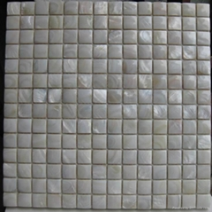 Natural Convex River Shell Mosaic for swimming pool decoration