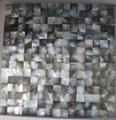 Square Blacklip Shell Mosaic Tiles 1