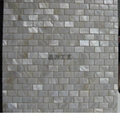 Rectangle Pure White River Shell Mosaics