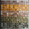 Dyed Color River Shell Mosaic for