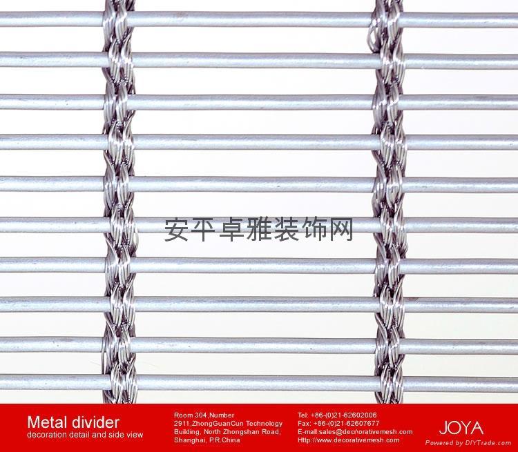 金屬建築鋼絲繩網 3