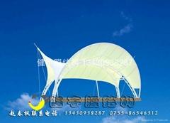 33  美觀大方膜結構雨篷