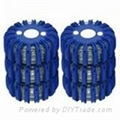 Blue Emergency LED Flares