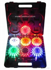6-Pack LED Road Flares