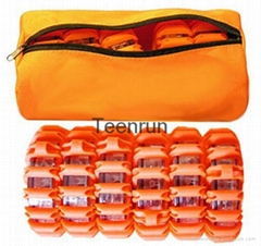 Led Road Flares 6 Pack Bag Packed