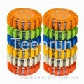 Non-rechargeable led emergency flares