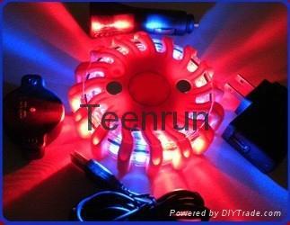 Orange Led Rotary Warning Light 1