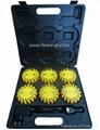 Novation LED Warning Light Rechargeable Suitcase Kit 3