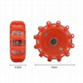12+3 magnetic car warning light with hook 3