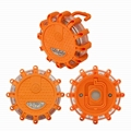 3 pack non-rechargeable traffic strobe warning light road safety flare 4