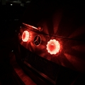 3 pack red led warning light flashing flare with magnetic base 5