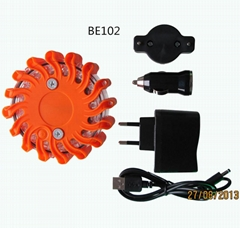 Rechargeable Plastic LED Traffic Strobe Flare For Led Road Safety flare Light