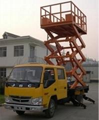 車載式液壓昇降平台