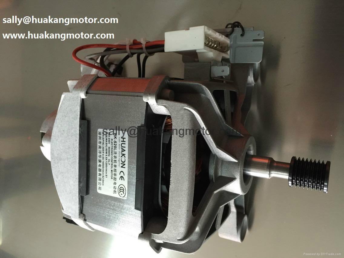 Front loading Washing machine universal motor 2