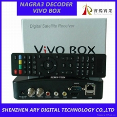 Newest twin tuner wifi Nagra 3 IKS SKS VIVO BOX NUCO tv box