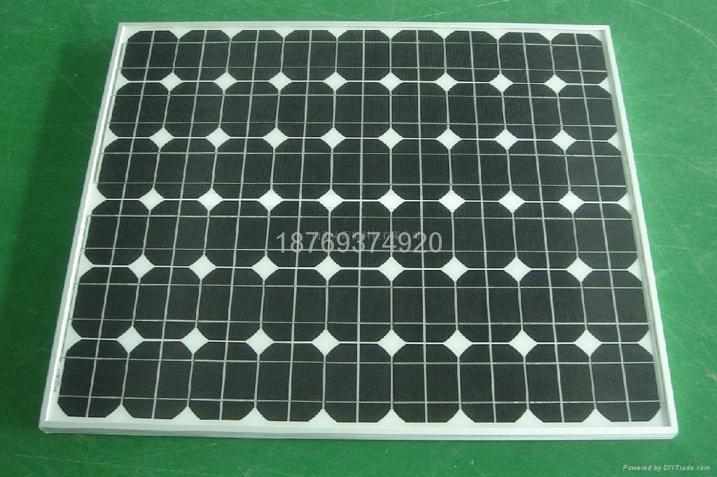 190w单晶太阳能电池板 1