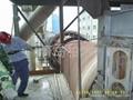 水泥厂窑尾结皮清除高压水枪