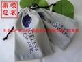 拉绳束口绒布袋 1