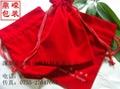 拉绳束口绒布袋 2
