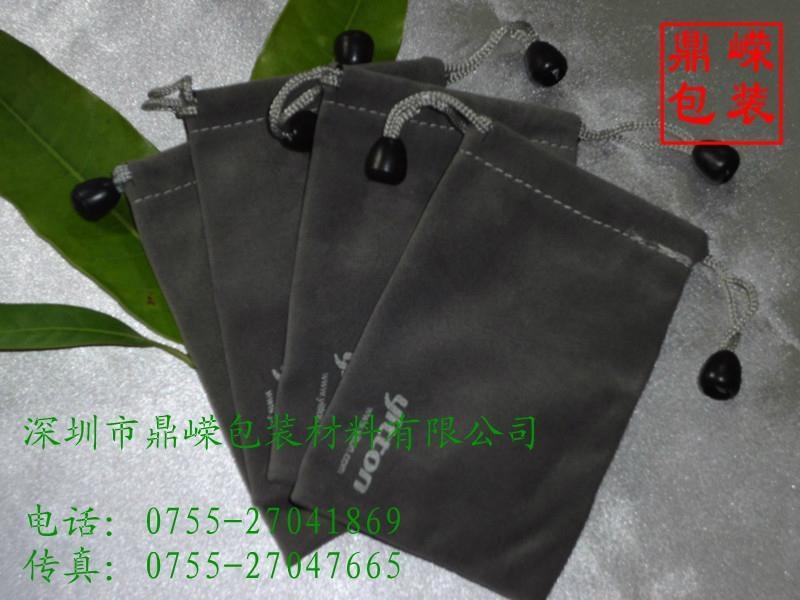 拉绳束口绒布袋 3
