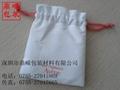 拉绳束口绒布袋 4