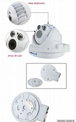 HD Wireless PTZ Dome IP CCTV Camera 1080P 2.0MP  Low Lux ONVIF