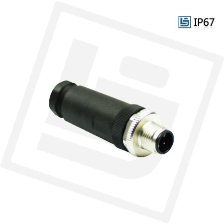 M12防水传感连接器 1