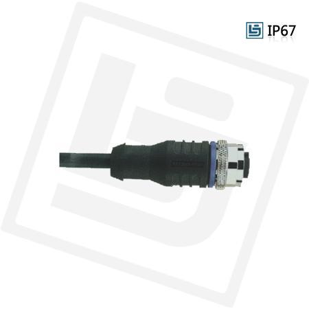 M12防水传感连接器 2