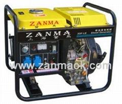 熱賣上海贊馬3KW柴油發電機組