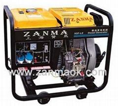 暢銷上海贊馬5kW柴油發電機組