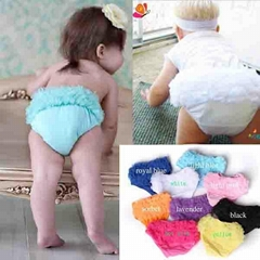 hot sale adorable style infant girl's ruffle petti diaper baby ruffle  bloomers