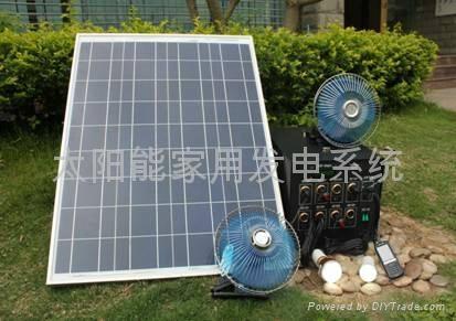 10W太阳能发电系统 1