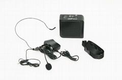 Aker portable voice amplifier microphone