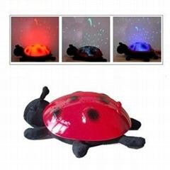 Twilight Ladybug Night Light Star Hot Toy for baby