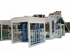 Building materials production line or concrete block making machine(BT-QT8-15)