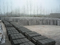 Building materials production line or free-burning brick machine