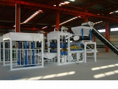 Concrete forming machine or brick molding machine (BT-QT6-15 )